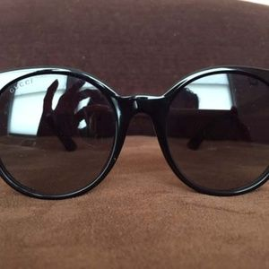 GUCCI GG 0091S ROUND SUNGLASSES AUTHENTIC